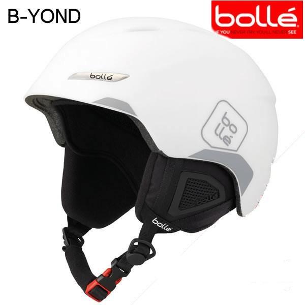 bolle(ボレー)ヘルメット 2018 B-YOND(ビーヨンド) ソフトホワイト&グレー 17-18 ヘルメット スキーヘルメット【C1】