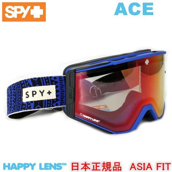 spy ゴーグル ACE PHIL CASABON/HAPPY LIGHT GRAY 緑 ルシッドレッド +スペアレンズ 18-19 アジアフィット スパイ ゴーグル