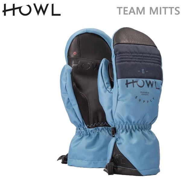 スノーボード グローブ ミトン HOWL グローブ TEAM MITTS/青(18-19/2019)ハウル スノーボード ミトングローブ