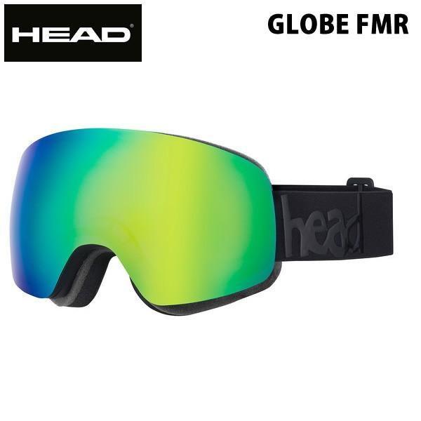HEAD スノーゴーグル GLOBE FMR / 青 緑 ヘッド  スキー スノーボードゴーグル