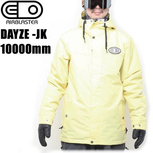 エアブラスター ウェア 18-19 DAYZE ジャケット PALE 黄 AIR blaster スノーボード ウェア メンズ セール 安い 型落ち