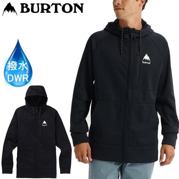 バートン 2019SS ウェア パーカー CROWN BONDED FULL ZIP HOODIE True 黒 JAPAN 防水・撥水加工アパレル BURTON