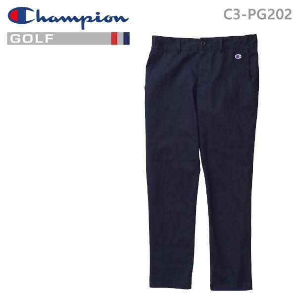 チャンピオン ゴルフ ロングパンツ C3-PG202-370 ネイビー Champion GOLF 日本正規品