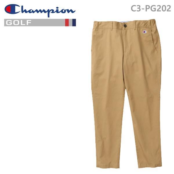 チャンピオン ゴルフ ロングパンツ C3-PG202-780 ベージュ Champion GOLF 日本正規品