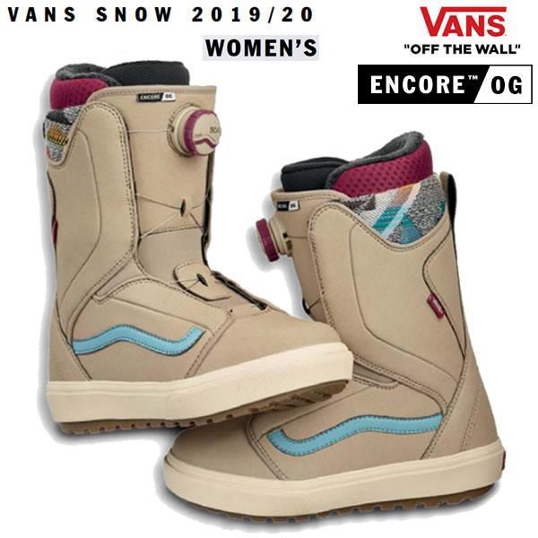 VANS スノーボード ブーツ 婦人向け ENCORE OG ボアシステム/TAN CAMEO 青(19-20 2020)バンズ スノーボード ブーツ
