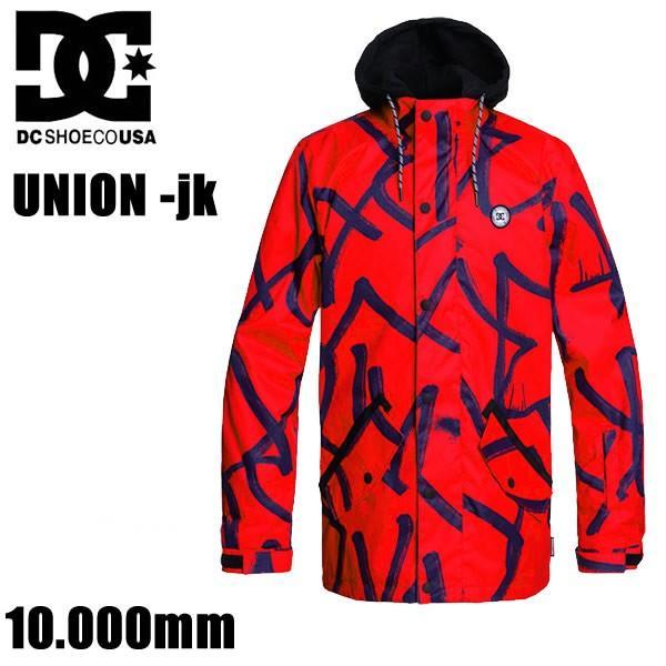 スノーボード ウェア DC メンズ ジャケット 19-20 UNION -jacket / RQR6 /Racing赤 ジャケット (2019-2020) DCSHOE ウエア スノーボード ウェア メンズ