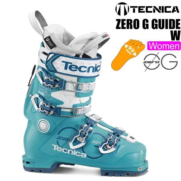 テクニカ スキーブーツ 2018 ZERO G GUIDE W ゼロG ガイド ウーマン テックビンディング対応 女性用 17-18 TECNICA スキーブーツ