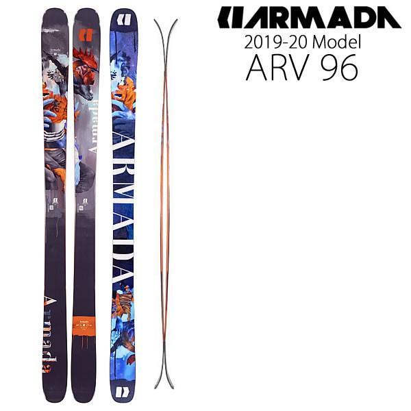 アルマダ スキー 2020 ARV 96 スキー単品 板のみ エーアールブイ 96 19-20 armada スキー板 armada ski 2020