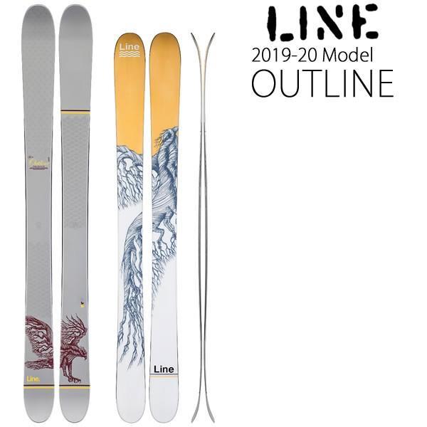 【オープニングセール】 LINE スキー 2020 OUTLINE アウトライン スキー単品 19-20 ライン スキー line スキー板, ヒガシムラ d4f0bcde