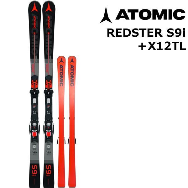 ATOMIC・アトミック スキー 19-20 赤STER S9i+X12TL GW