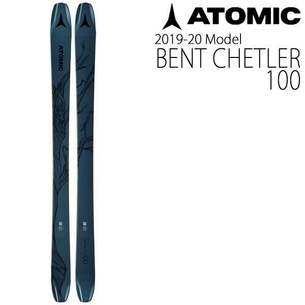 100%本物 アトミックスキー板 2020 BENT CHETLER 100 スキー単品 板のみ ベンチェラー100 19-20 atomic スキー板 atomic ski 2020, イイナンチョウ 090aa828