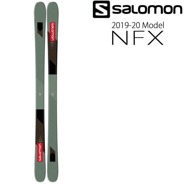 サロモン スキー板 2020 NFX スキー単品 板のみ エヌエフエックス 19-20 salomon スキー板 salomon ski 2020 【L2】