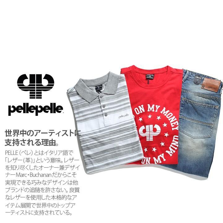 White, Red or Grey Pelle Pelle Mens Tee Shirt