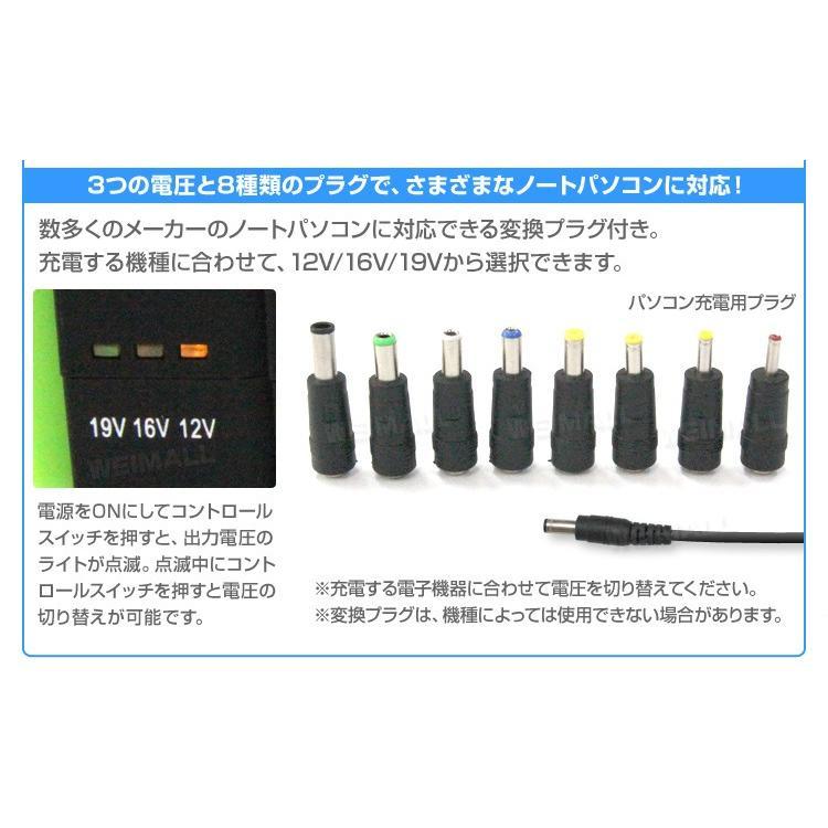 ジャンプスターター モバイルバッテリー 12V 車用 充電器 エンジンスターター 大容量 懐中電灯16800mAh 大容量 weimall 11