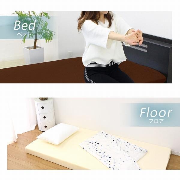 マットレス ダブル 高反発 厚み10cm 硬め175N 全2色 カバー付き 体圧分散 洗濯可能 腰痛 ベッド 寝具 ノンスプリングマットレス 敷き布団 WEIMALL|weimall|10