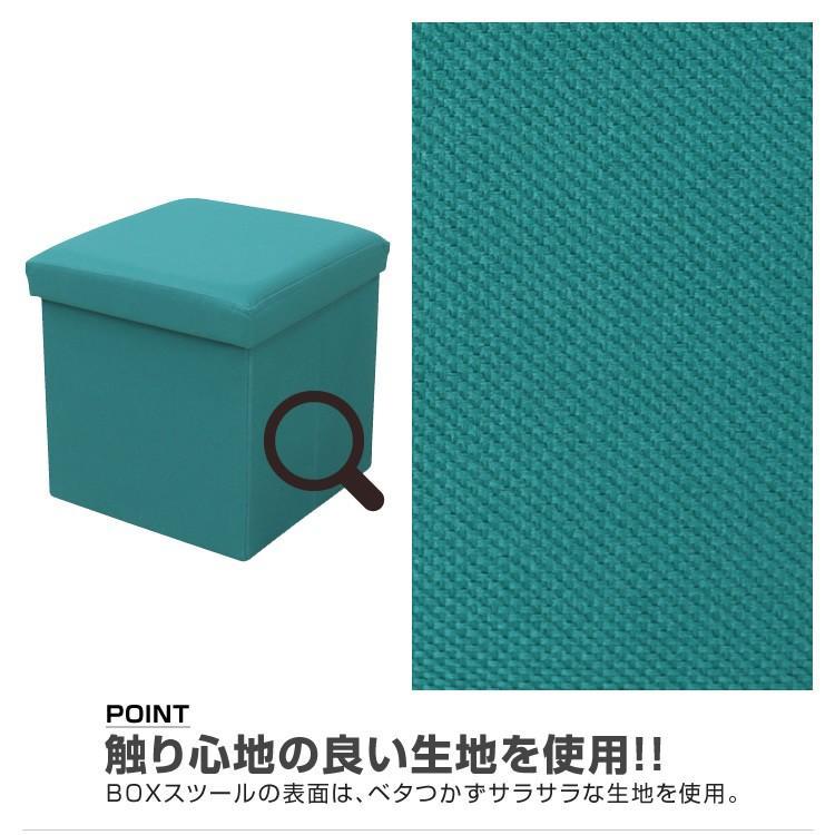 収納スツール 耐荷重100kg 折りたたみ フタ付き 収納ボックス 椅子 布製 ボックススツール オットマン おしゃれ Sサイズ おもちゃ箱|weimall|13