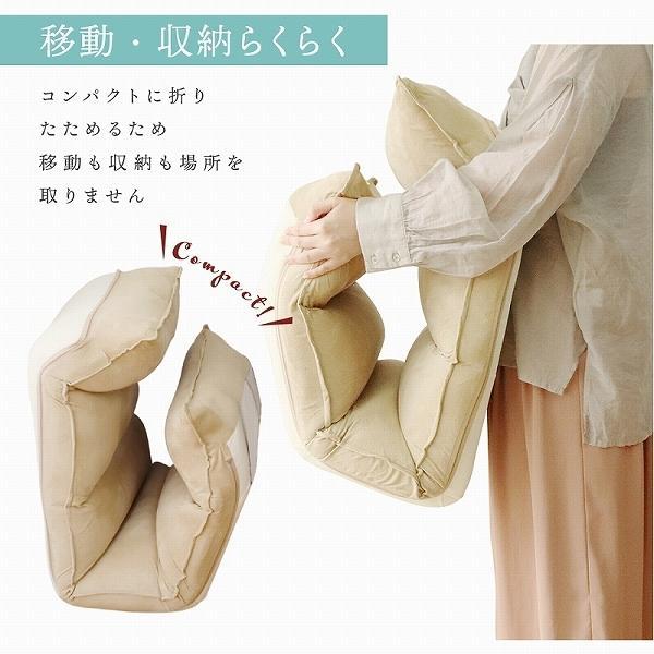 座椅子 リクライニング 低反発 ハイバック リラックス構造 メッシュ 全5色 日本製ギア コンパクト 高座椅子 チェア 1人掛け おしゃれ 腰痛 テレワーク 座いす weimall 14