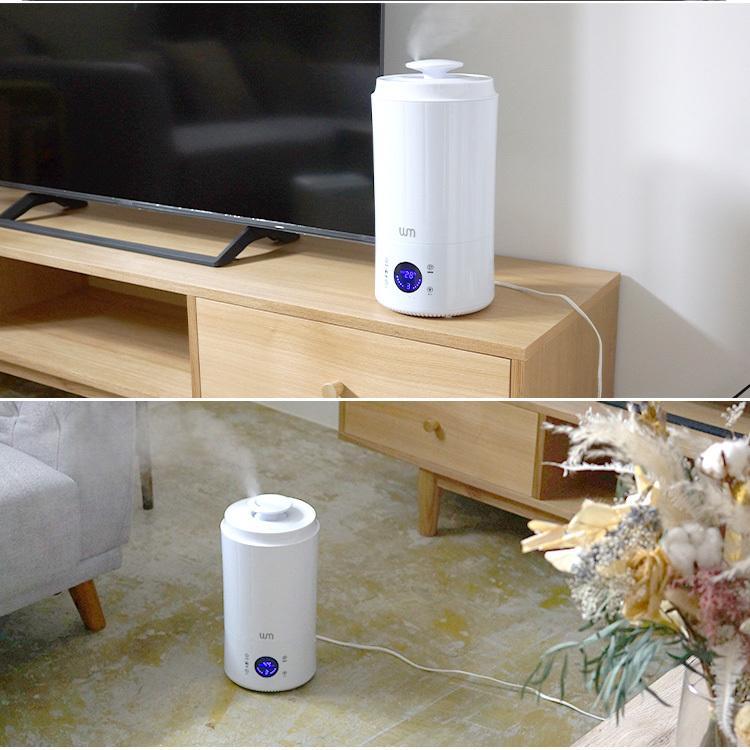 加湿器 超音波式 静音 大容量 最大10畳 3.8L タワー型 上から給水 タッチセンサー デジタル表示 加湿量調節可能 卓上 インテリア 手入れ簡単 weimall 06