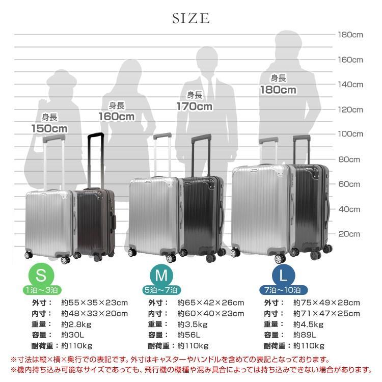 スーツケース Sサイズ 軽量 ファスナータイプ 小型 1泊〜3泊用 30L ABS樹脂 ポリカーボネート TSAロック搭載 キャリーケース 旅行 WEIMALL|weimall|11