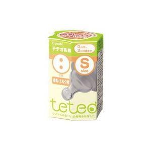コンビ teteo テテオ乳首 2穴 Sサイズ 母乳・ミルク用 0ヶ月〜3ヶ月頃まで wellness-web