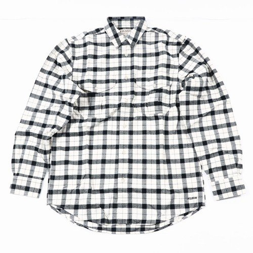 FSALASKANGUIDESHI FILSON(フィルソン)(アラスカンガイドシャツ)-101オフホワイト