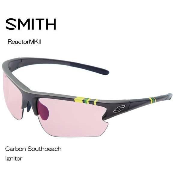 SMITHスミス Reactor MK2 CARBON SOUTHBEACH IGNITOR 209000070 サングラス