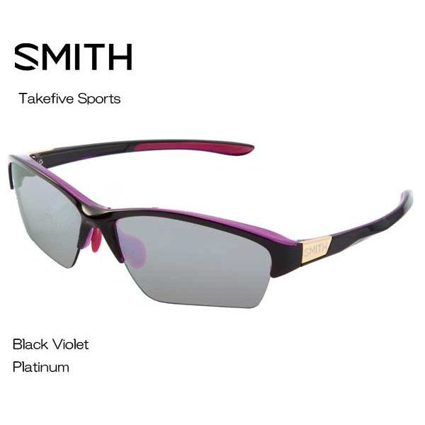 最も優遇の SMITHスミス Sports BLACK VIOLET PLATINUM Takefive Sports BLACK VIOLET PLATINUM 203350461 サングラス, 株式会社カノン:389fe796 --- airmodconsu.dominiotemporario.com