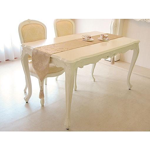 輸入 オーダー家具 プリンセス家具 ビバリーヒルズ ダイニングテーブル W140