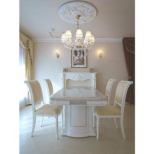 大理石 オーダーメイド オーダーメイド アフロディーテ ダイニングテーブル180 ホワイトカラーラ