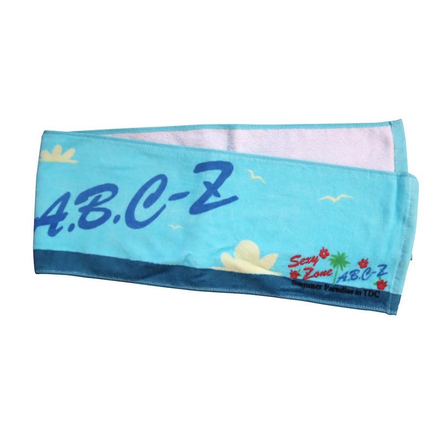 A.B.C-Z「Summer Paradise in TDC」マフラータオル [ 公式グッズ ]|wetnodsedog