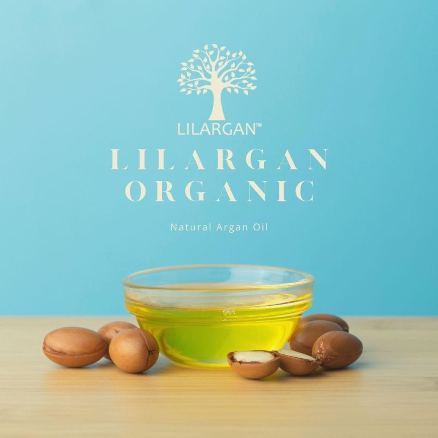 [公式] リルアルガン アルガンオイル 100ml モロッコ 製 オーガニック 認証 ピュア 未精製 100% 無添加 アルガン LILARGAN 送料無料|whatsupstore|02