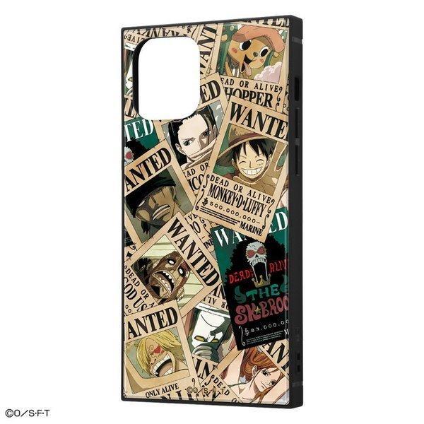 iPhone12 pro iPhone12 ケース スクエア ワンピース 耐衝撃ハイブリッドケース KAKU / 手配書 アイフォン12pro カバー onepiece グッズ|white-bang