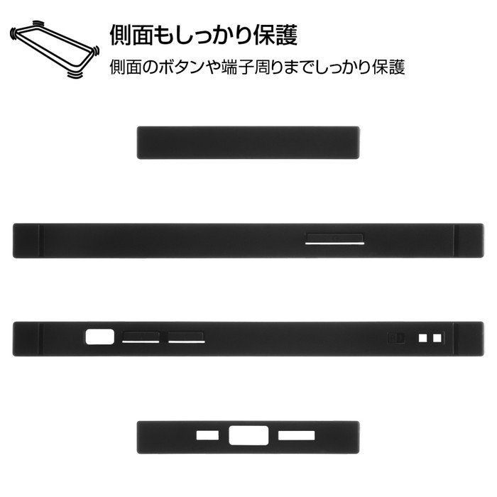 iPhone12 pro iPhone12 ケース スクエア ワンピース 耐衝撃ハイブリッドケース KAKU / 手配書 アイフォン12pro カバー onepiece グッズ|white-bang|05