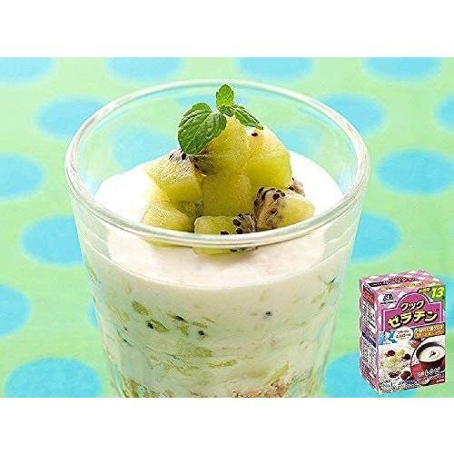 森永製菓 クックゼラチン 13袋入り (5g×13P)×4箱 white-daisy 04