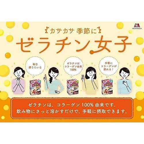 森永製菓 クックゼラチン 13袋入り (5g×13P)×4箱|white-daisy|07