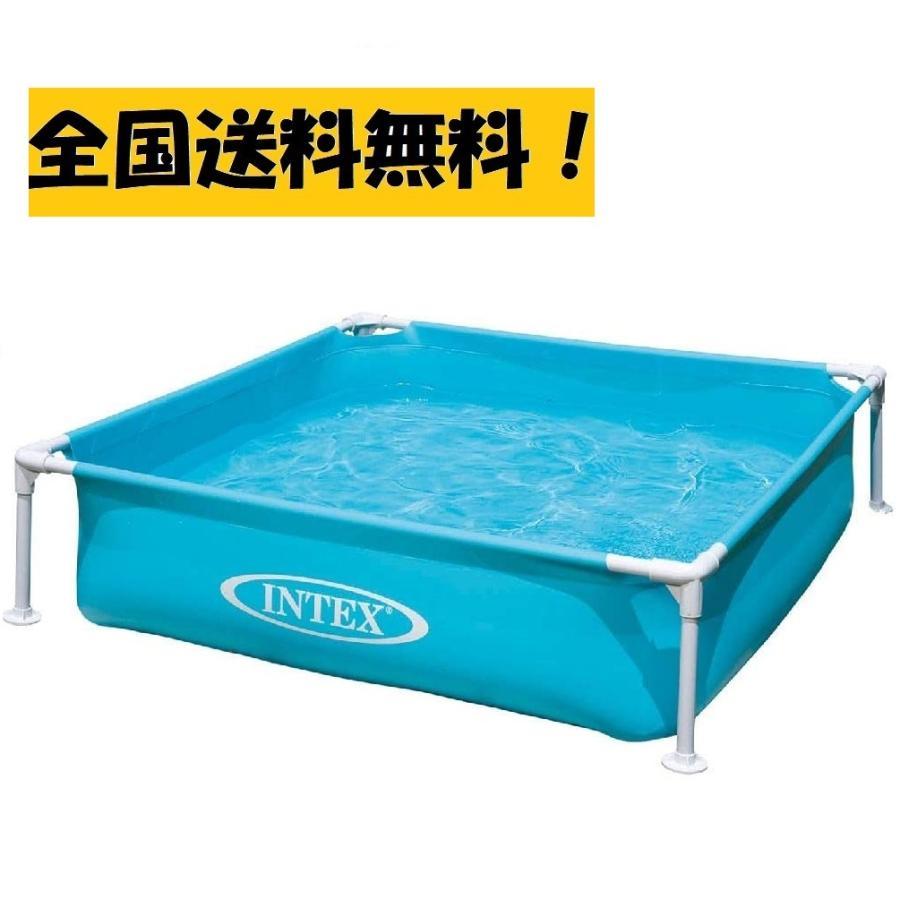 送料無料 インテックス ミニ フレームプール INTEX Mini Frame Pool 大人気! ファミリー 夏休み ペット 高価値 水遊び 空気入れ不要 子供 庭 プール