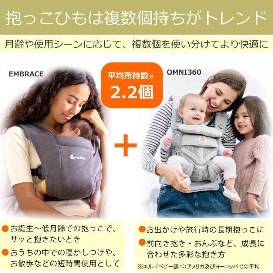 抱っこひも エルゴベビー 新生児用 EMBRACE エンブレース ベビーキャリア 正規品 2年保証付き|whitebear-family|08