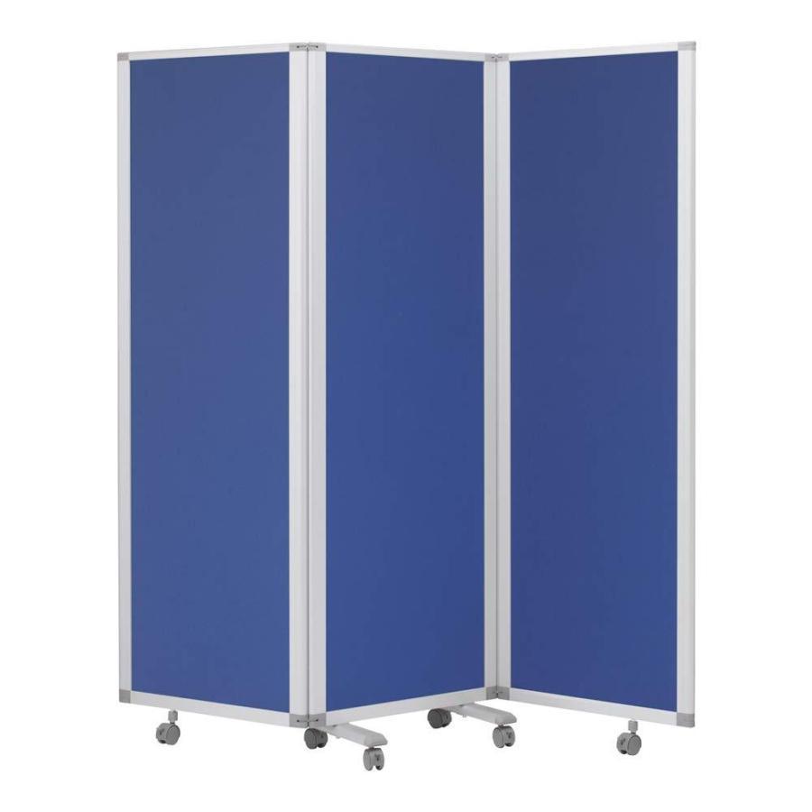 3連スクリーン 期間限定 クロス ブルー 商舗 スタンダードBN TP3-1806BN-FFBB H1800×W1800