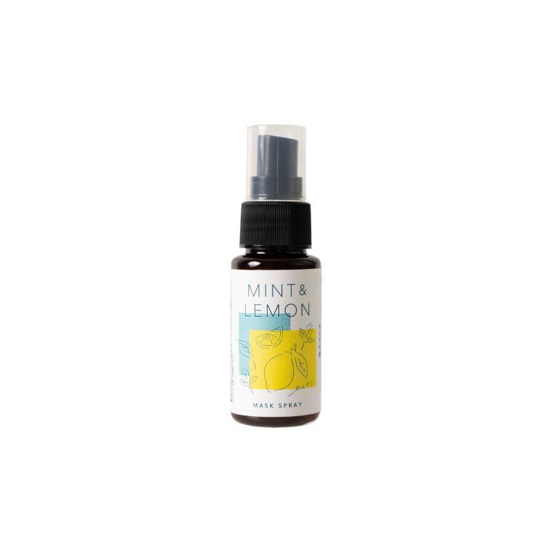 生活の木 ミントと檸檬のひんやりマスクスプレー 30ml 特価キャンペーン いよいよ人気ブランド 夏 限定 マスク