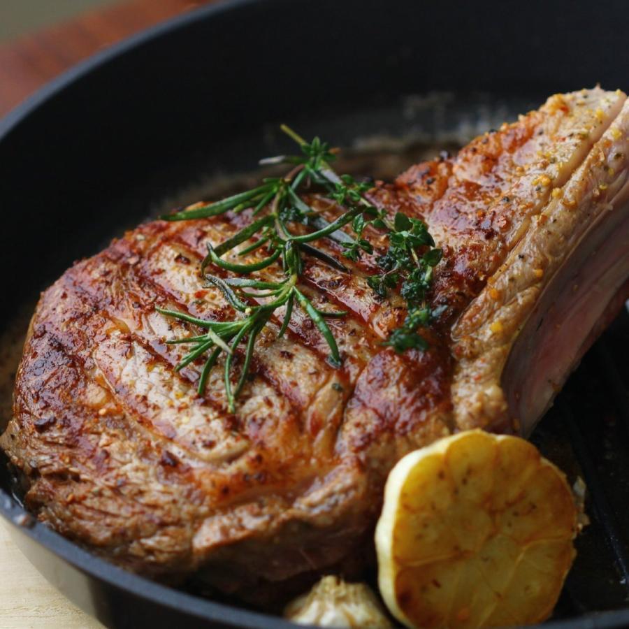 牛肉 トマホークステーキ 800g-1kg 骨付き肉 かたまり肉 アニメ肉 -SKU124-small|wholemeat|02