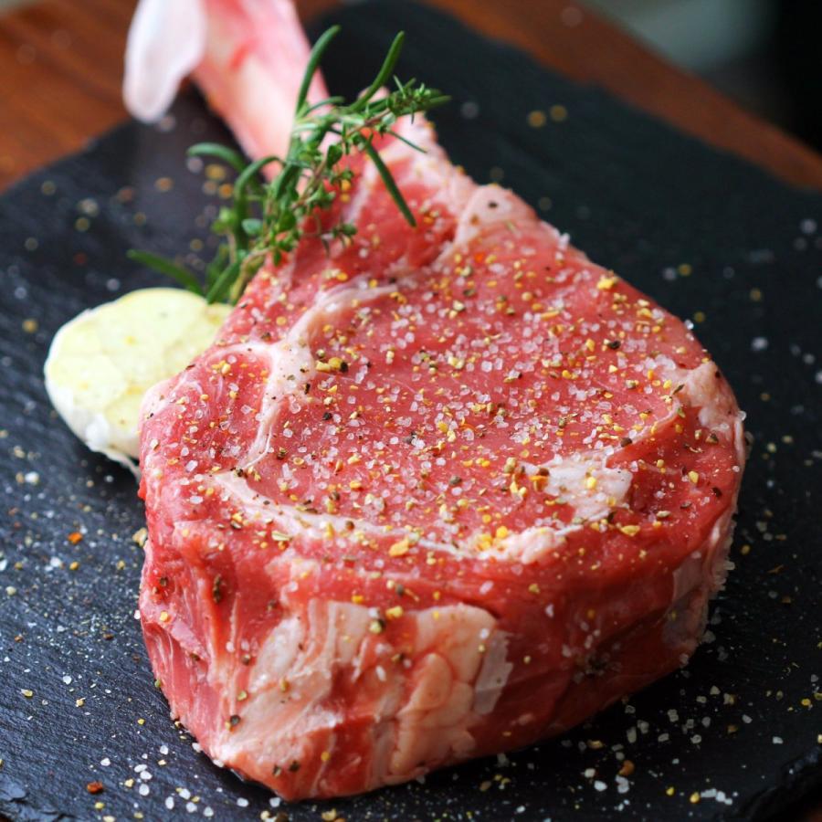 牛肉 トマホークステーキ 1キロ以上 1.0~1.25kg 骨付き肉 かたまり肉 アニメ肉 -SKU124 wholemeat 05