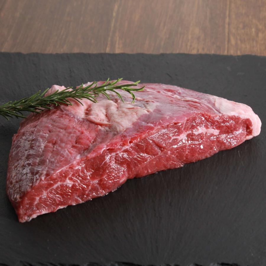 フランクステーキ 牛外バラ (牛肉赤身) 500g BBQなどに オーストラリア産 オージービーフ -SKU119|wholemeat|03