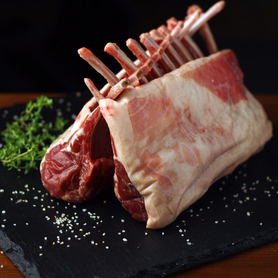 ラム肉 ラムフレンチラック 800g ニュージーランド産 仔羊肉 ハラル ハラール -SKU402|wholemeat|02