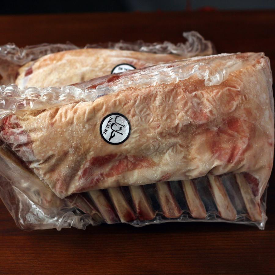 ラム肉 ラムフレンチラック 800g ニュージーランド産 仔羊肉 ハラル ハラール -SKU402|wholemeat|03