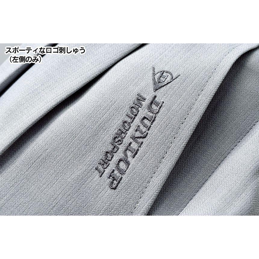 スラックス メンズ 裾上げ済み 夏 夏用 夏物 ツータック ビジネス カジュアル 杢調 ゴルフ パンツ 吸水 速乾 ウエスト調整 セット 2本 2色|wide02|05