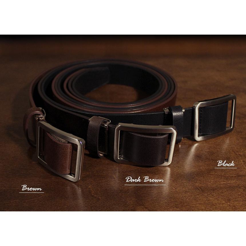 ベルト メンズ 無段階調整 穴なし 穴無し 幅広 無調整 無段階 紳士 男性 ブラック ブラウン スライド式 本革 レザー 黒 茶色 77405-20 ギフト プレゼントに wide02 06