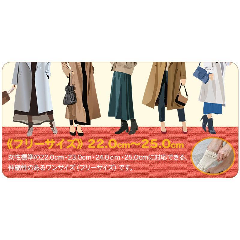 冷え取り靴下 シルク 日本製 5本指ソックス 重ねばき靴下 2枚 足首 冷え対策 冬 冷え性対策 綿 レディース 子供 保温 暖かい ギフト クリスマスプレゼント|wide02|18