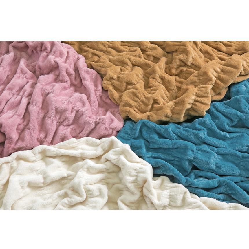 発熱毛布 日本製 毛布 掛け毛布  ロマンス小杉 ウォームサポート  ウォームケット コットンケット 掛毛布 あったか毛布 綿 コットン 吸湿 wide02 13