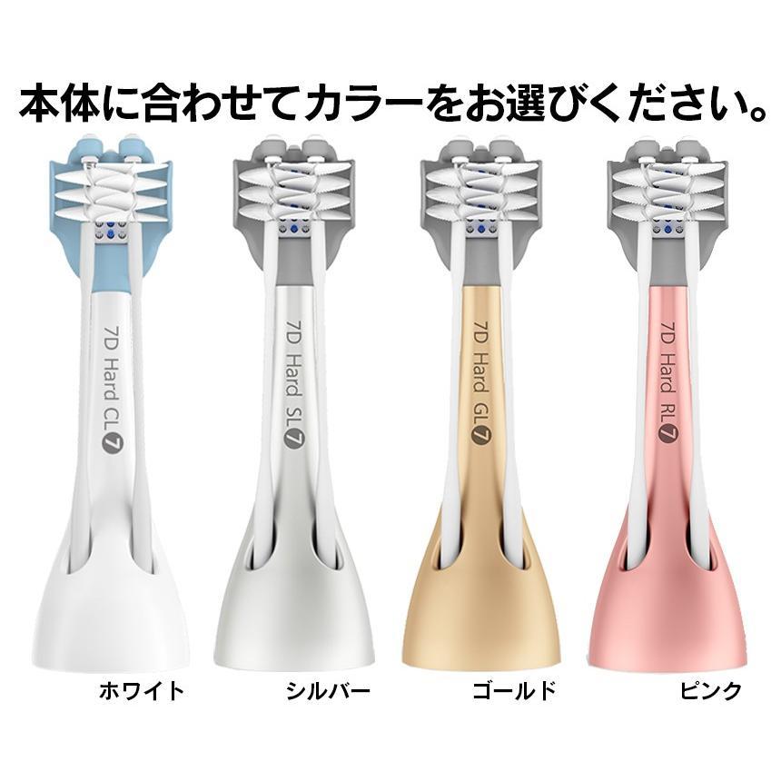 COOLSSHA クールシャ 替えブラシ やわらかめ ふつう かため ちいさめ の4種類 電動歯ブラシ COOLSSHA用 交換用 純正|wide02|03