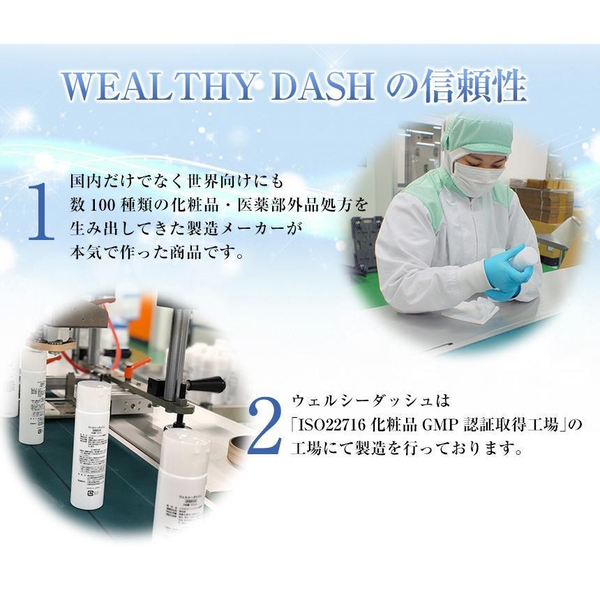 育毛剤 増毛 液体 メンズ レディース 男性用 女性用 医薬部外品 お試し WEALTHY DASH ウェルシーダッシュ 120ml|wide02|15